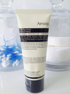 Aesop exfoliating paste